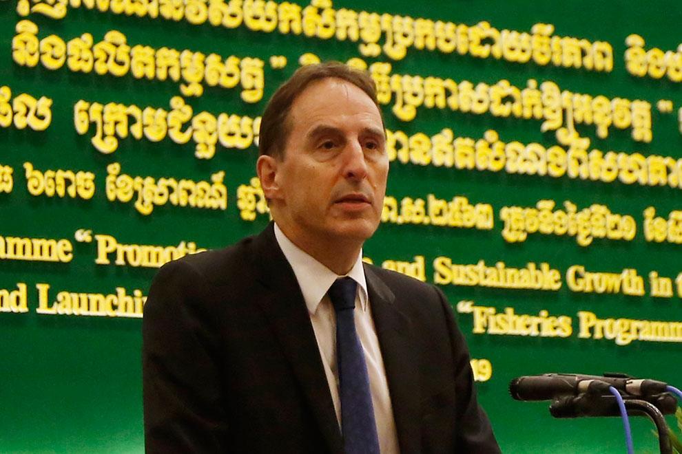 EU Ambassador George Edgar