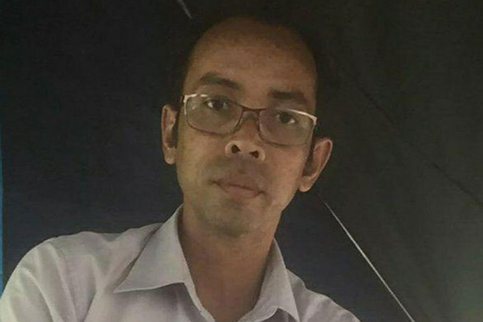 Hong Srieng, a former CNRP activist