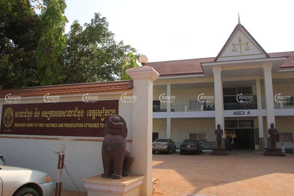 The Siem Reap Provincial Court sentenced Evrard Nicholas Sarot to five years and $11,000 on child pornography charges in 2018, but the Dutch national paid the families only $8,000 last week. Panha Chhorpoan