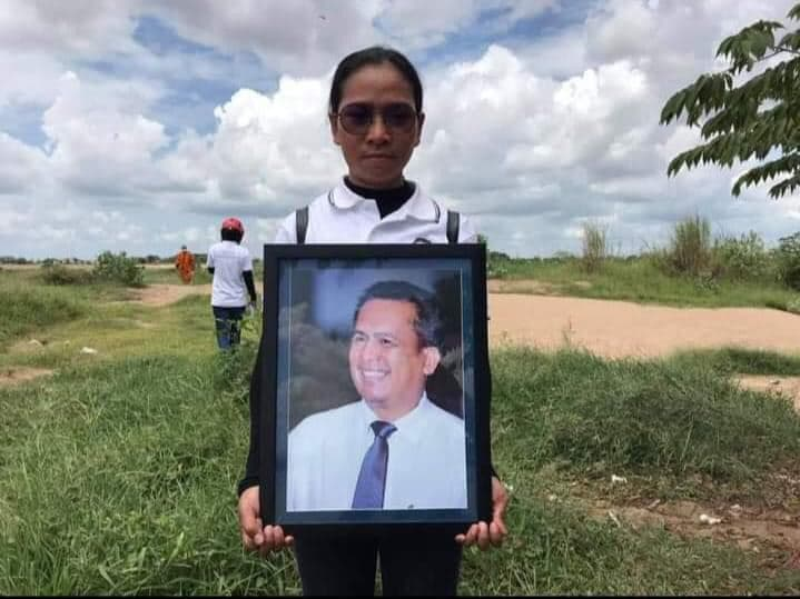 Jailed Khmer Thavrak activist Eng Malai, above, alleged that she was beaten by other Prey Sar prisoners in early December for conducting a hunger strike.