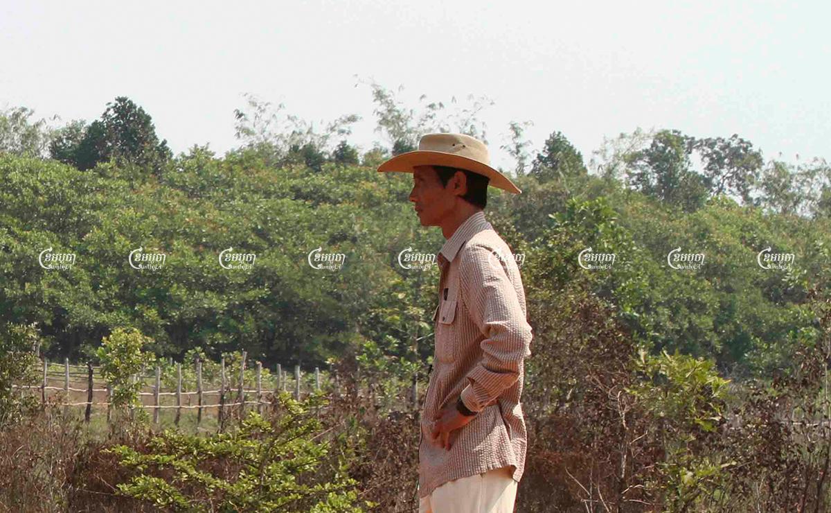 Environmental activist Chut Wutty visits Botum Sakor national park in Koh Kong province, February 21, 2012. CamboJA/ Pring Samrang